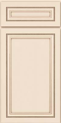 Square Recessed Panel - Veneer (CTM) Maple in Canvas w/Cocoa Glaze - Base
