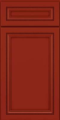 Square Recessed Panel - Veneer (CTM) Maple in Cardinal - Base