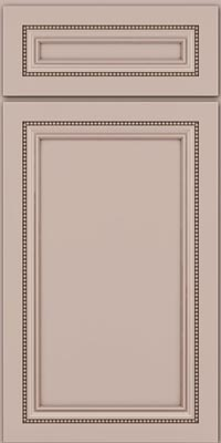 Square Recessed Panel - Veneer (CTM1) Maple in Chai w/Cocoa Glaze - Base