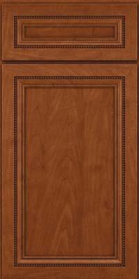 Square Recessed Panel - Veneer (CTM) Maple in Chestnut - Base