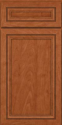 Square Recessed Panel - Veneer (CTM) Maple in Cinnamon - Base