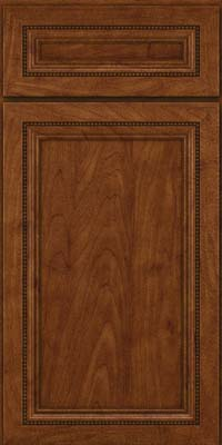 Square Recessed Panel - Veneer (CTM) Maple in Cognac - Base