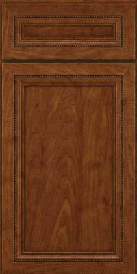 Square Recessed Panel - Veneer (CTM) Maple in Cognac - Base