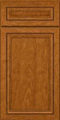 Square Recessed Panel - Veneer (CTM) Maple in Golden Lager - Base