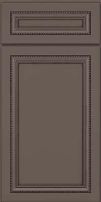 Square Recessed Panel - Veneer (CTM) Maple in Greyloft w/ Sable Glaze - Base