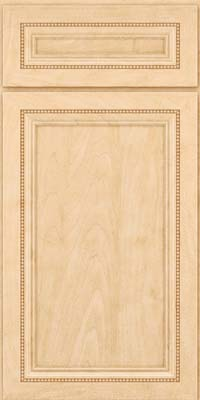 Square Recessed Panel - Veneer (CTM) Maple in Natural - Base
