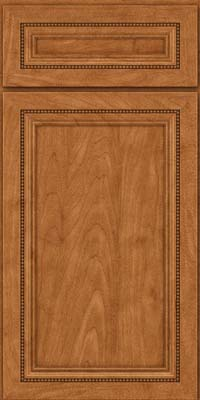 Square Recessed Panel - Veneer (CTM) Maple in Praline - Base