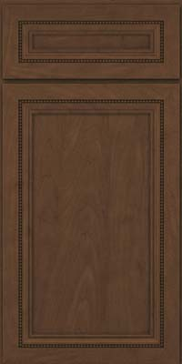 Square Recessed Panel - Veneer (CTM) Maple in Saddle - Base