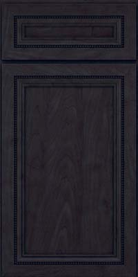 Square Recessed Panel - Veneer (CTM) Maple in Slate - Base