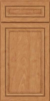 Square Recessed Panel - Veneer (CTM) Maple in Toffee - Base