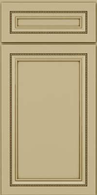 Square Recessed Panel - Veneer (CTM) Maple in Willow w/Cocoa Glaze - Base