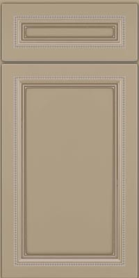 Square Recessed Panel - Veneer (CTM1) Maple in Willow w/Coconut Glaze - Base