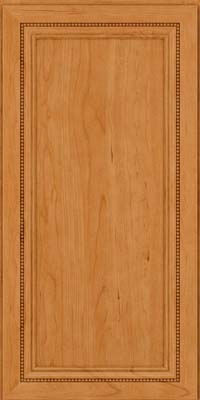 Square Recessed Panel - Veneer (CTC) Cherry in Natural - Wall