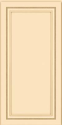Square Recessed Panel - Veneer (CTM) Maple in Biscotti - Wall