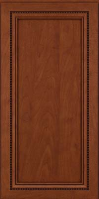 Square Recessed Panel - Veneer (CTM) Maple in Chestnut w/Onyx Glaze - Wall