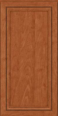 Square Recessed Panel - Veneer (CTM) Maple in Cinnamon - Wall