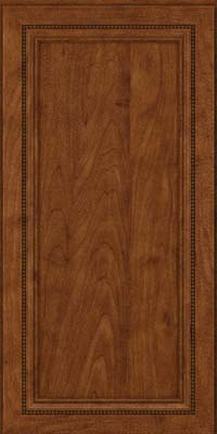 Square Recessed Panel - Veneer (CTM) Maple in Cognac - Wall