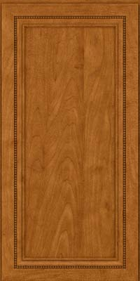 Square Recessed Panel - Veneer (CTM) Maple in Golden Lager - Wall