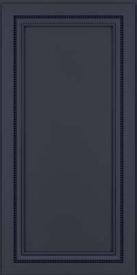 Square Recessed Panel - Veneer (CTM) Maple in Midnight w/ Onyx Glaze - Wall