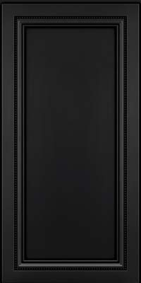Square Recessed Panel - Veneer (CTM) Maple in Onyx - Wall
