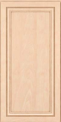 Square Recessed Panel - Veneer (CTM) Maple in Parchment - Wall