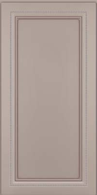 Square Recessed Panel - Veneer (CTM) Maple in Pebble Grey w/ Cocoa Glaze - Wall