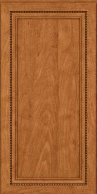 Square Recessed Panel - Veneer (CTM) Maple in Praline w/Mocha Highlight - Wall