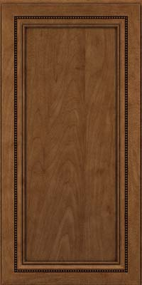 Square Recessed Panel - Veneer (CTM) Maple in Rye w/Onyx Glaze - Wall
