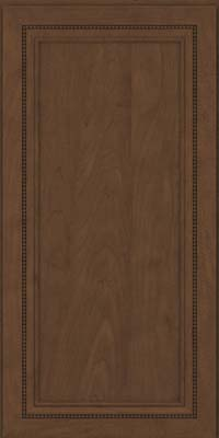 Square Recessed Panel - Veneer (CTM) Maple in Saddle - Wall