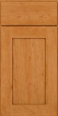 Square Recessed Panel - Solid (DRHC) Cherry in Natural - Base