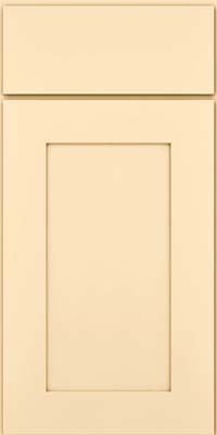 Square Recessed Panel - Solid (DRHM) Maple in Biscotti - Base