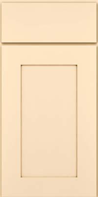 Square Recessed Panel - Solid (DRHM) Maple in Biscotti w/Cocoa Glaze - Base