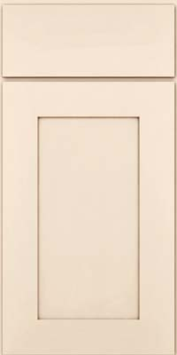 Square Recessed Panel - Solid (DRHM) Maple in Canvas w/Cocoa Glaze - Base