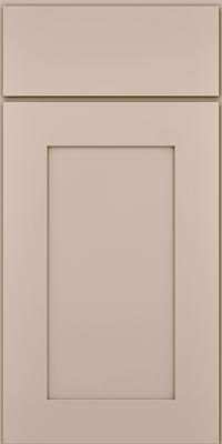 Square Recessed Panel - Solid (DRHM1) Maple in Chai - Base
