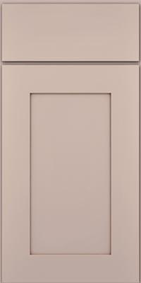 Square Recessed Panel - Solid (DRHM1) Maple in Chai w/Cocoa Glaze - Base