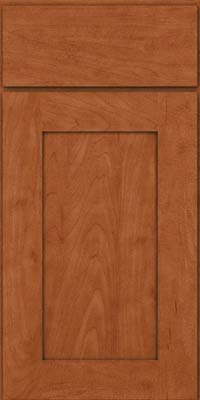 Square Recessed Panel - Solid (DRHM) Maple in Cinnamon - Base