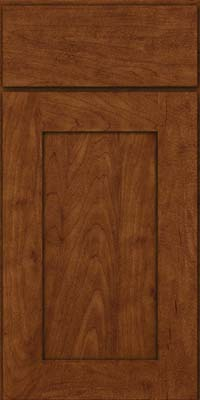 Square Recessed Panel - Solid (DRHM) Maple in Cognac - Base