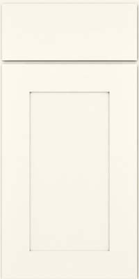 Square Recessed Panel - Solid (DRHM) Maple in Dove White - Base