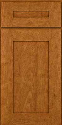Square Recessed Panel - Solid (DRHM) Maple in Golden Lager - Base