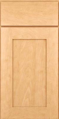 Square Recessed Panel - Solid (DRHM) Maple in Honey Spice - Base