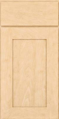 Square Recessed Panel - Solid (DRHM) Maple in Natural - Base
