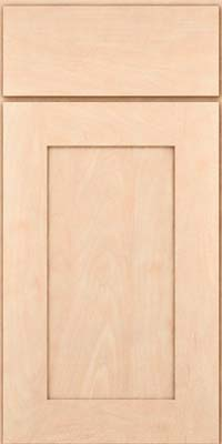 Square Recessed Panel - Solid (DRHM) Maple in Parchment - Base