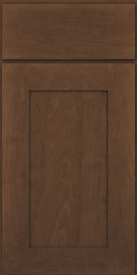 Square Recessed Panel - Solid (DRHM) Maple in Saddle Suede - Base