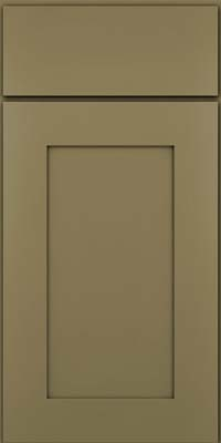Square Recessed Panel - Solid (DRHM) Maple in Sage - Base