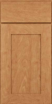 Square Recessed Panel - Solid (DRHM) Maple in Toffee - Base