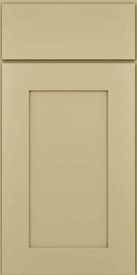 Square Recessed Panel - Solid (DRHM) Maple in Willow - Base