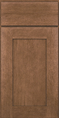 Square Recessed Panel - Solid (AB2O) Quartersawn Oak in Husk - Base