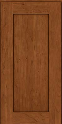 Durham Square (DRHC) Cherry in Antique Chocolate w/Mocha Glaze - Wall