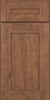 Square Recessed Panel - Solid (DRHC) Cherry in Husk - Wall