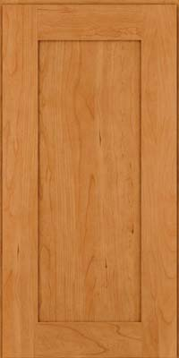 Square Recessed Panel - Solid (DRHC) Cherry in Natural - Wall